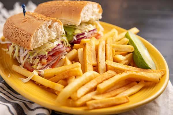 Italian Cold Cut Sandwich