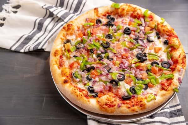 Vegetarian Deluxe Pizza