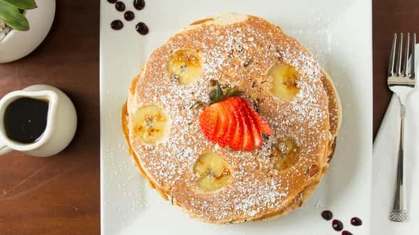 Fuzzy Monkey Pancakes