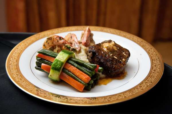 Steak and Shrimp Duet Entree