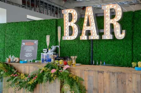 Custom Bar Set Up
