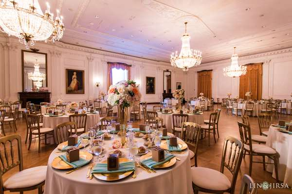 east room wedding