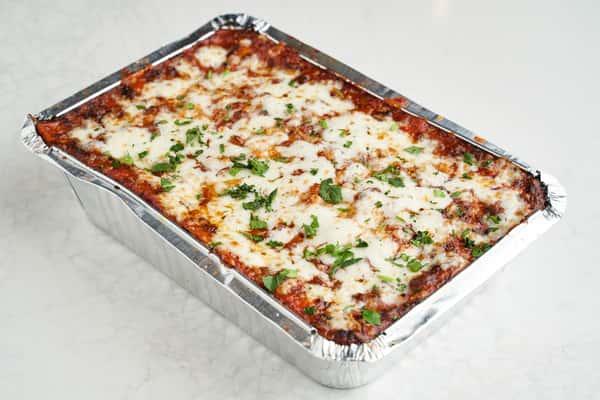 Take & Bake Lasagna with Bolognese