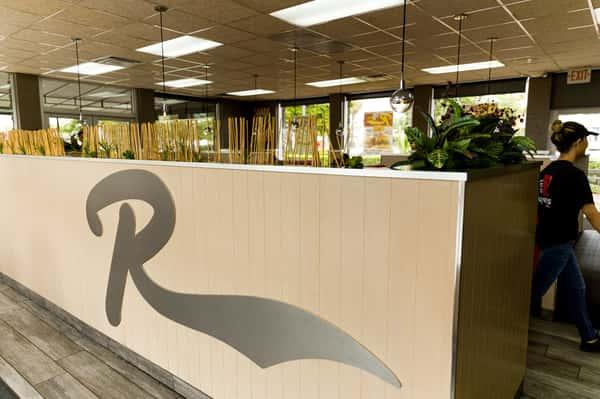 logo in lobby