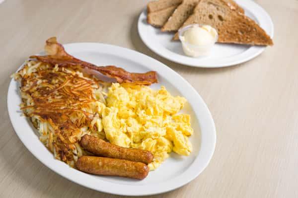 3 egg plate