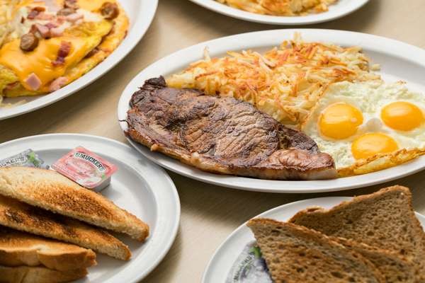Steak & Eggs*