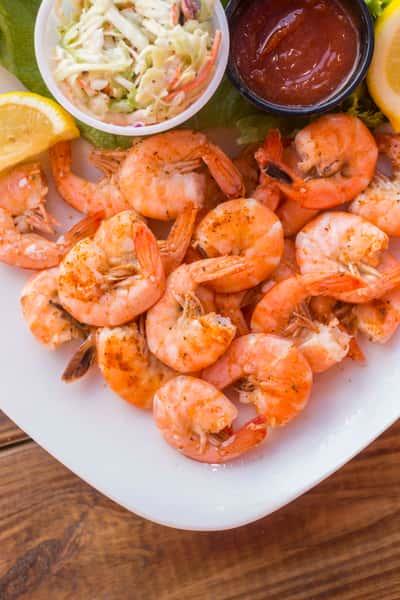 Steamed Old Bay Shrimp
