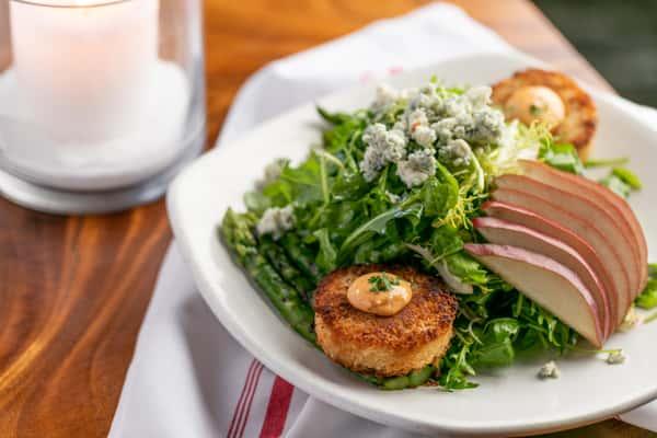 Maryland Crabcake Salad