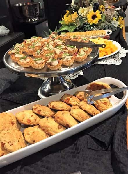 serving scones