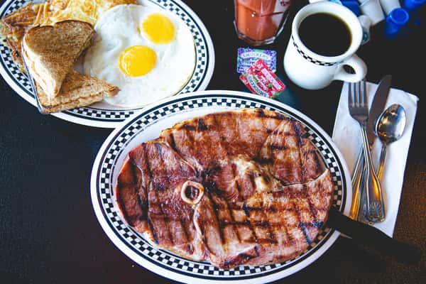 Pounder Country Ham Steak
