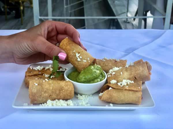 Chicken Flautas