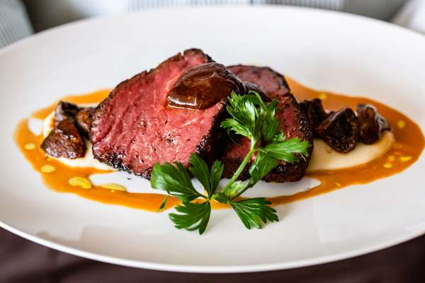 Coffee Crusted Filet