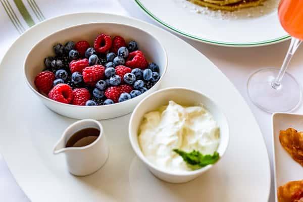Berries & Yogurt