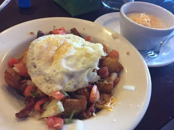 Breakfast Bowl Gravy on Side