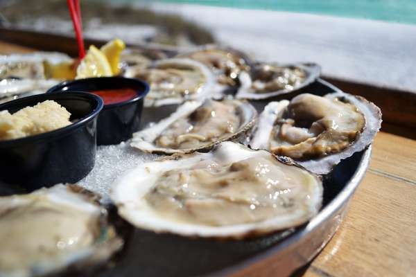 Raw Oysters*