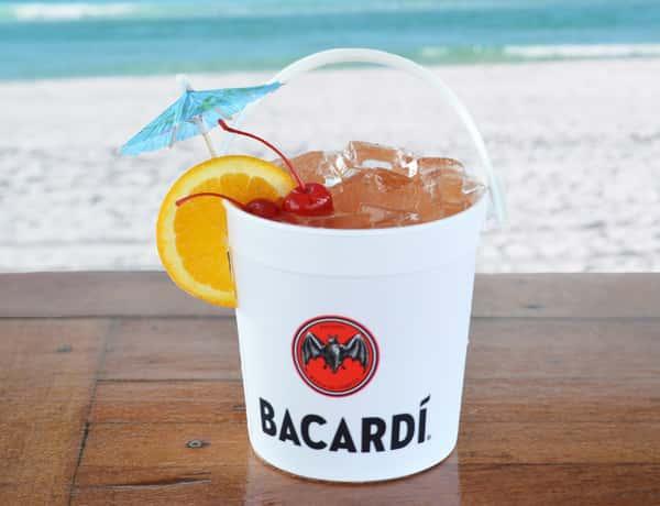 barcardi bucket