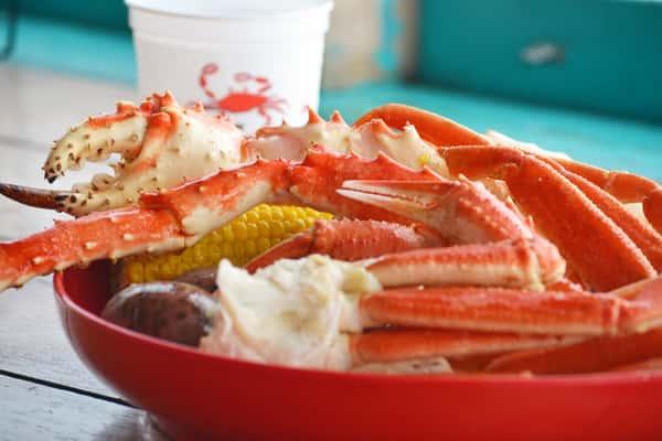 Alaska Red King Crab Legs*