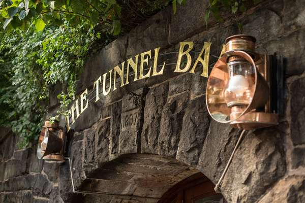 tunnel bar entrance