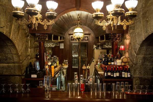 shot of bar