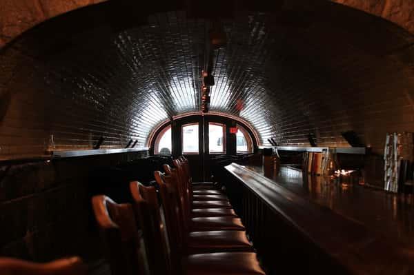 bar in dark