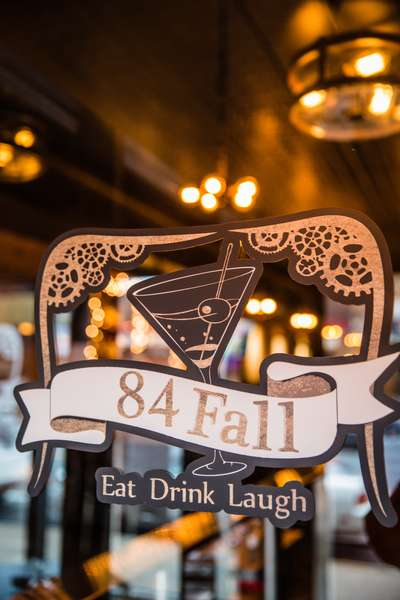 84 fall sign