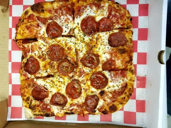 Grandma Style Square Pizza