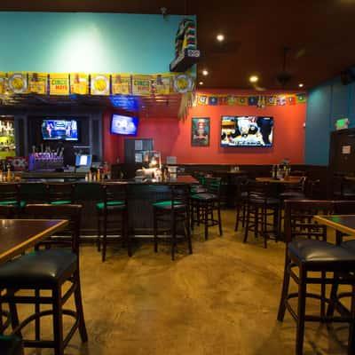 interior view of bar