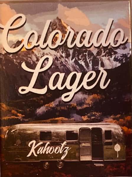 Kahootz Colorado Lager