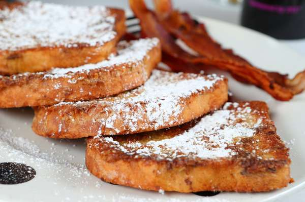 French Toast & Bacon