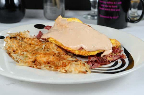 The Reuben Omelet