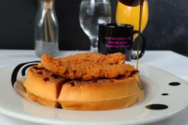 """Chicken n Waffles """"Secret Style"""""""
