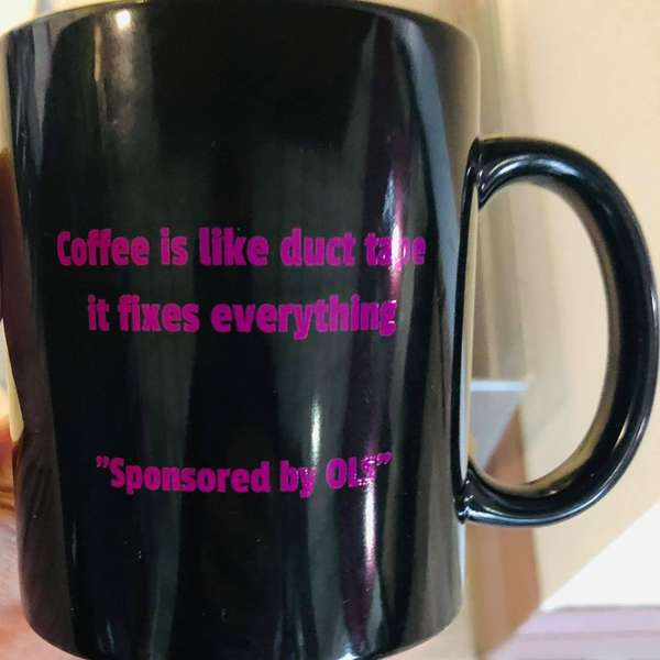 Coffee is like Duct Tape Mug