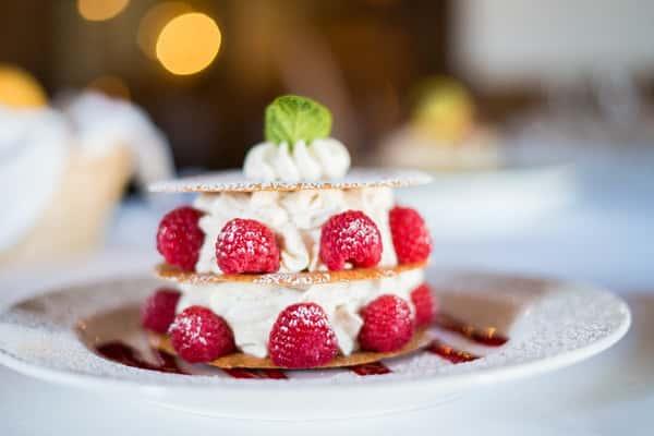 Raspberry Mille-feuille