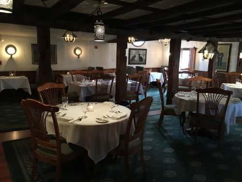 interior of barker tavern