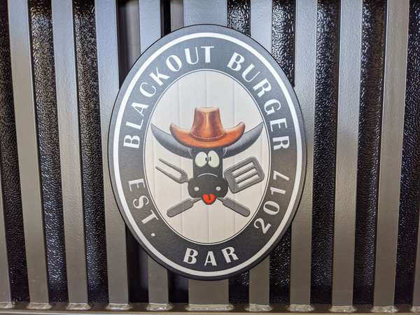 blackout burger bar logo