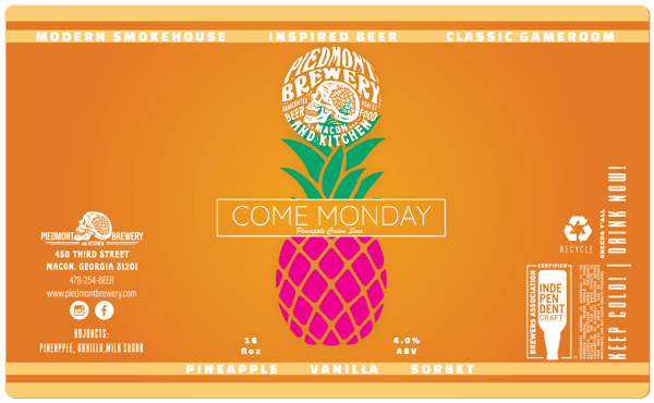 Come Monday Pineapple Sour