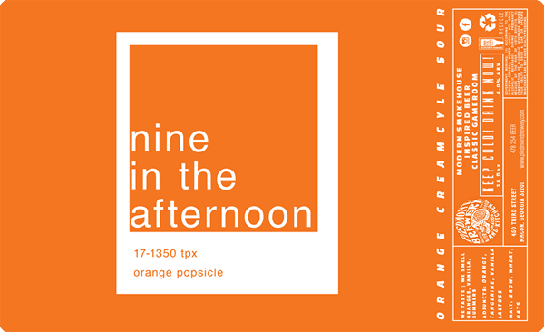 Nine In The Afternoon