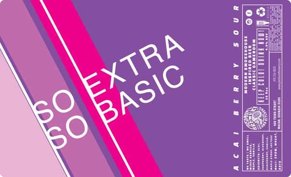 So Basic, So Extra Acai Berry Sour