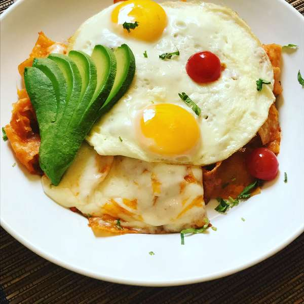 Martin's Spicy Chilaquiles