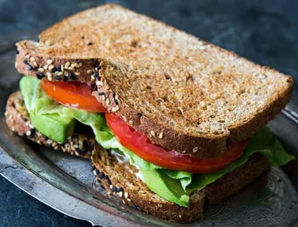 Healthy Garden Sandwich