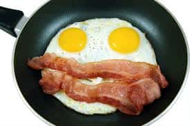 2 Eggs with Bacon or Sausage