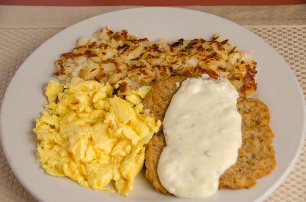 Country Fried Steak & Eggs