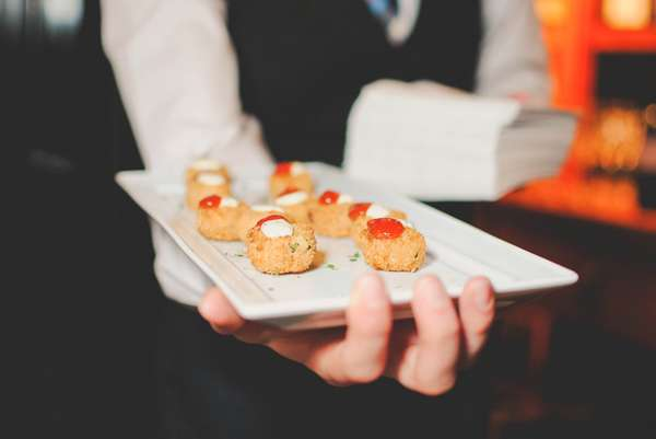 Catered appetizers