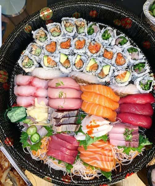 sushi catering dish