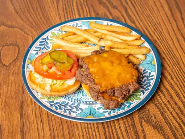 Double D Cheeseburger