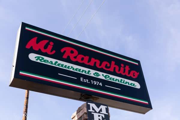 Mi Ranchito Sign