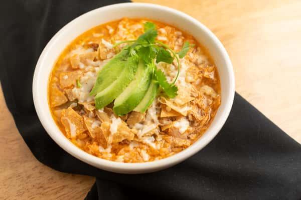 Chicken Tortilla & Rice Soup