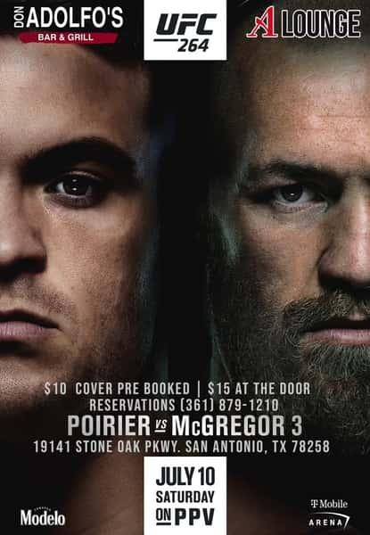 Poirier vs McGregor 3 july 10th