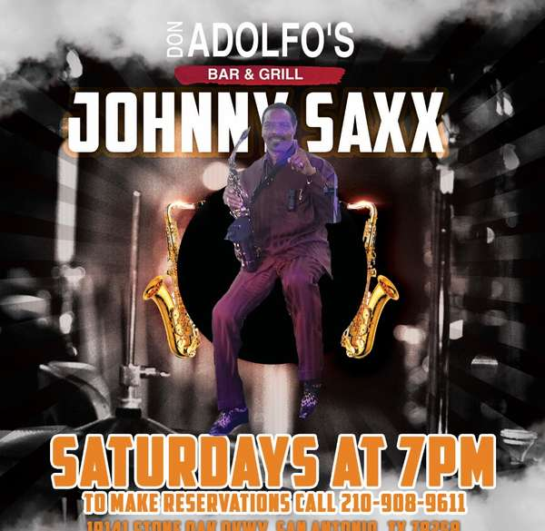 Johnny Sax saturday's at 7pm