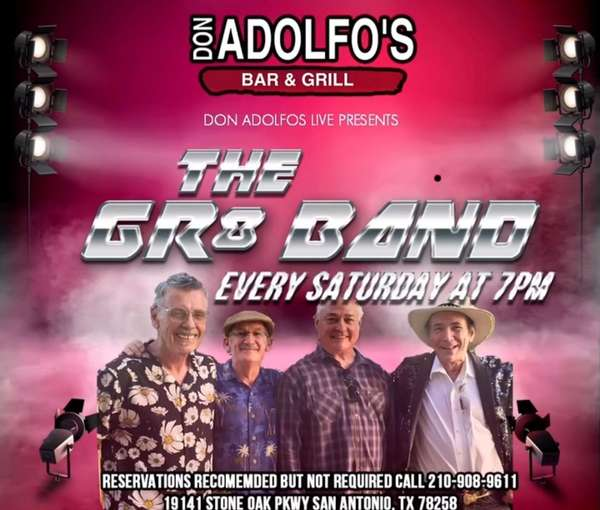 The GR8 band saturday's at 7pm